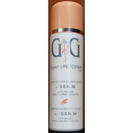 09923650bfb8 G&G Teint Uniforme Lightening beauty lotion - Lady Edna