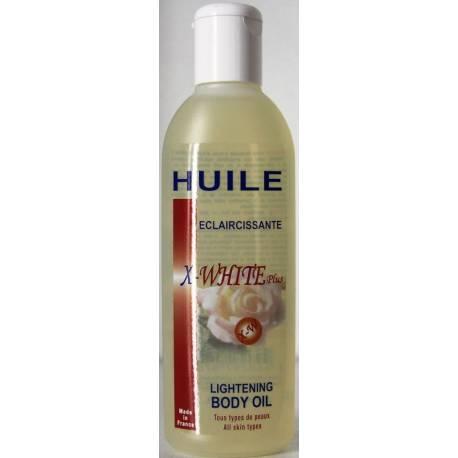 huile vegetale eclaircissante