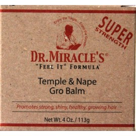 Dr.Miracle's - Temple and Nape Gro Balm - super strength - Baume pour les tempes et la nuque -super fort