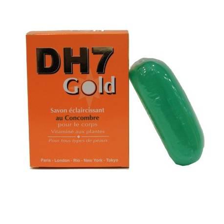 dh7 gold Savon éclaircissant au concombre