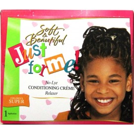 Soft and Beautiful Just for me - No-lye Conditioning Creme relaxer - children - super