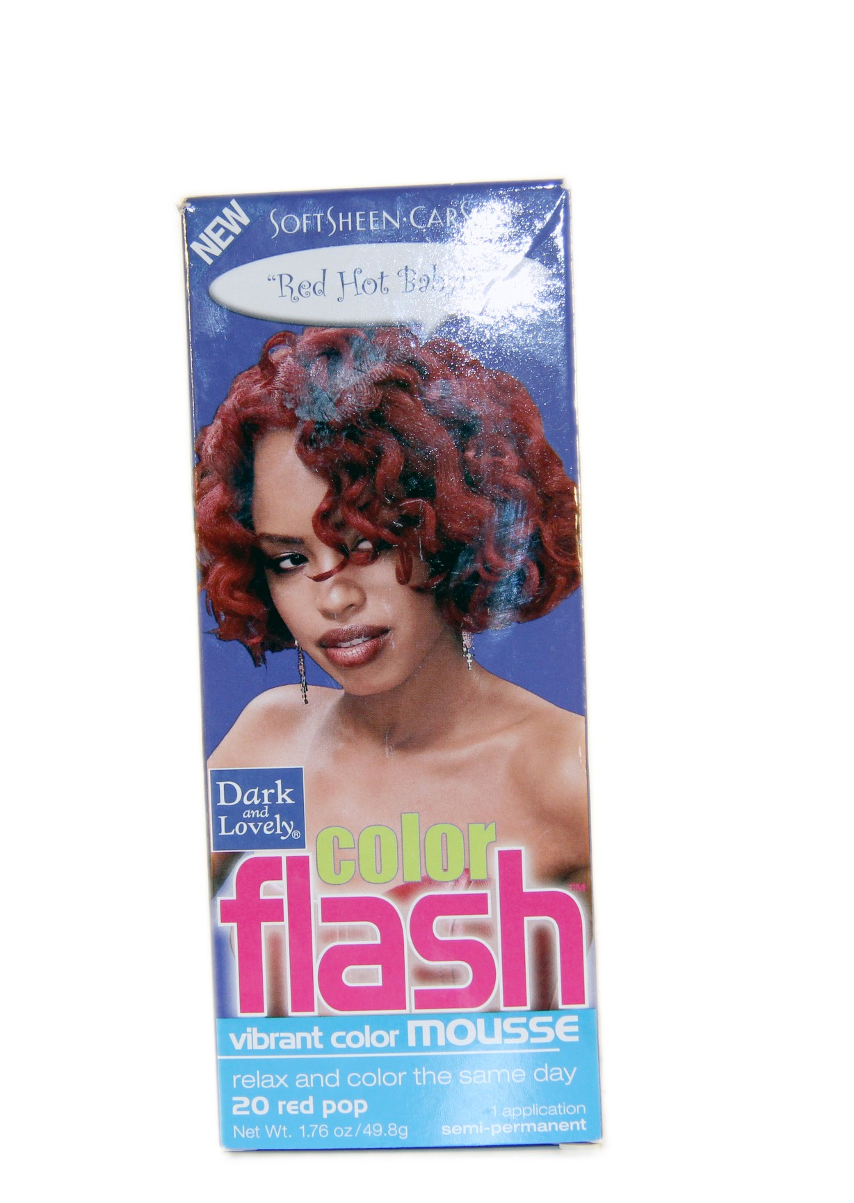 Dark And Lovely color flash 20 red pop - Lady Edna