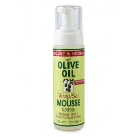 ORGANIC ROOT Stimulator OLIVE OIL Wrap Set Mousse