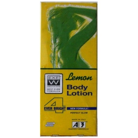 A3 Cosmetic - Executive White lemon body lotion