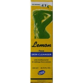 A3 Cosmetic Lemon Face skin cleanser Dermopurifying