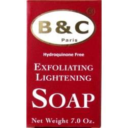 B&C Paris Exfoliating lightening soap