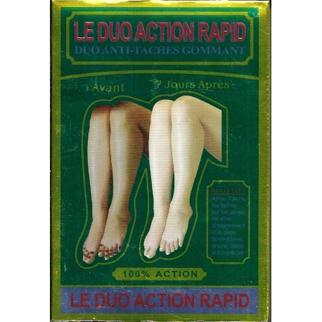 The Duo Rapid action - Anti spots exfoliating duo