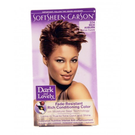 Coloration Marron Cuivré 374 Dark And Lovely