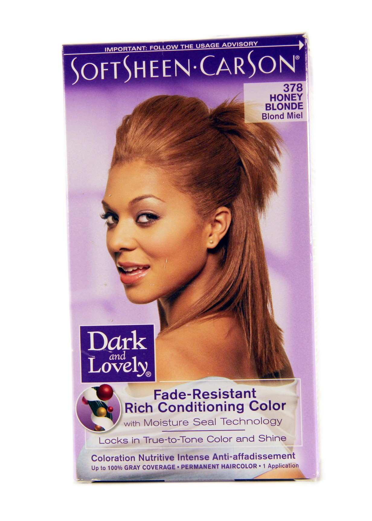 dark and lovely coloration blond miel 378 lady edna - Coloration Blond Miel