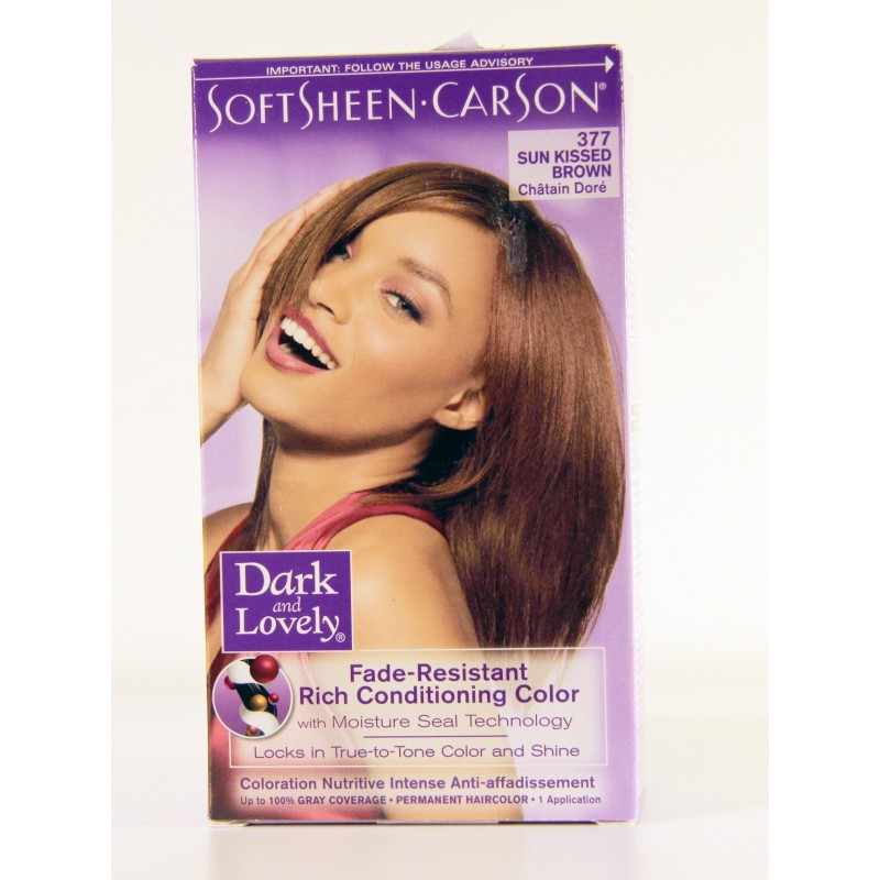 coloration chtain dor 377 dark and lovely - Color Mask Chatain Clair