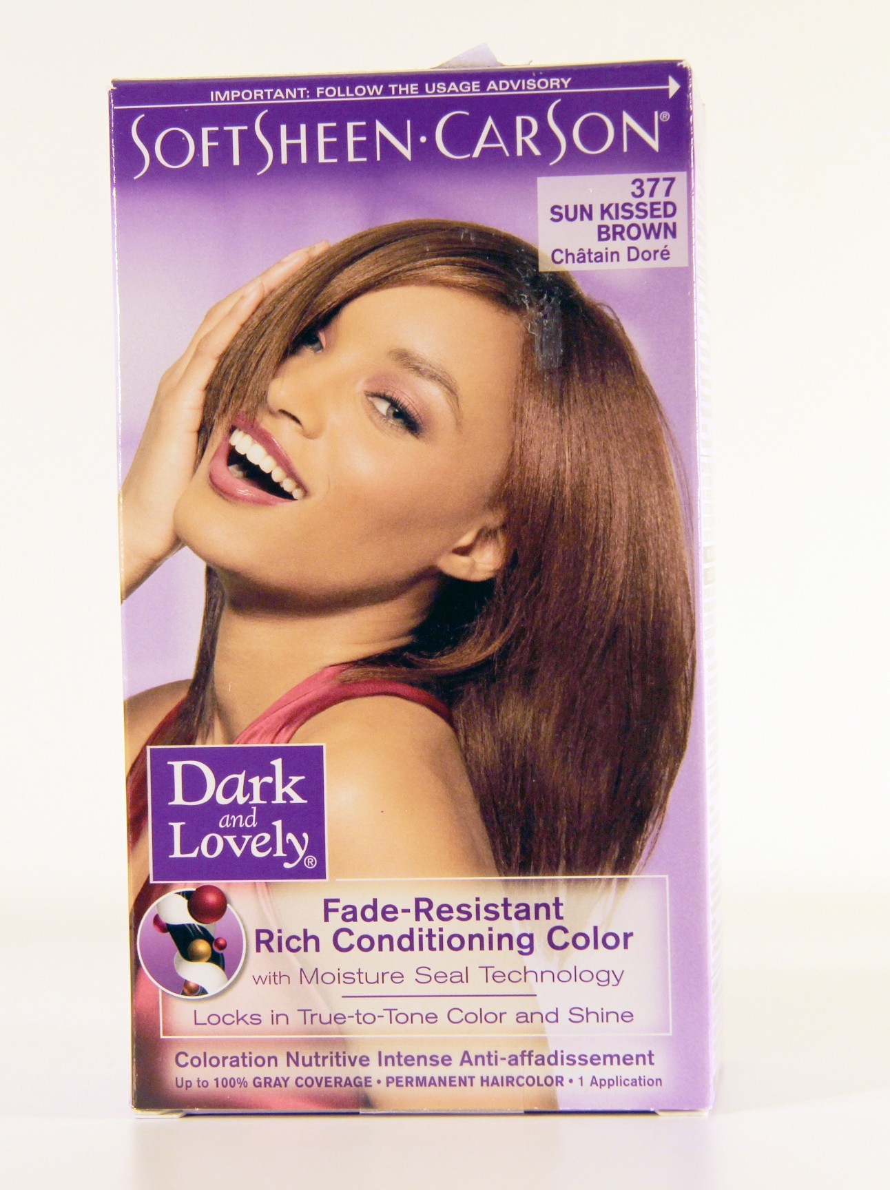 Dark And Lovely Color Rich Auburn 374 Lady Edna