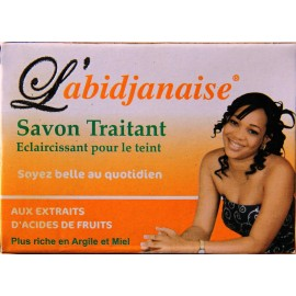 L'Abidjanaise treating lightening soap