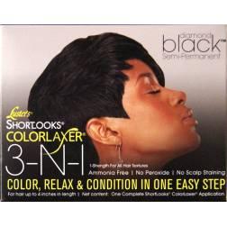 Luster's Shortlooks Colorlaxer Diamond Black
