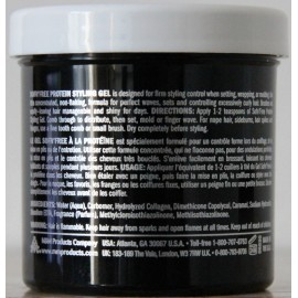 Sofn'free protein styling gel - Black - small size