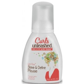 ORS Curls Unleashed Shine and Define Mousse - Mousse brillance et définition