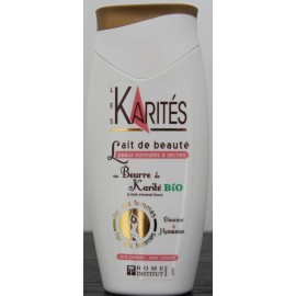 Les Karités Beauty milk with organic shea butter