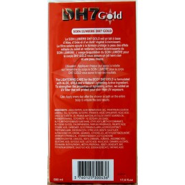 DH7 gold lightening care for the body