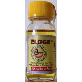 Eloge lightening lotion hands, feet, legs and scars