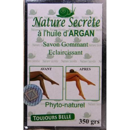 Exfoliating lightening soap Nature secrète