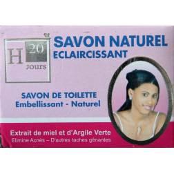 H20 Jours natural lightening soap