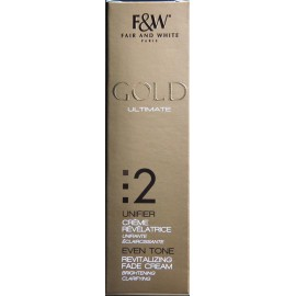 Fair&White Gold revitalizing fade cream