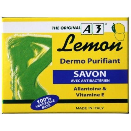 A3 Cosmetic Lemon Savon Dermo Purifiant