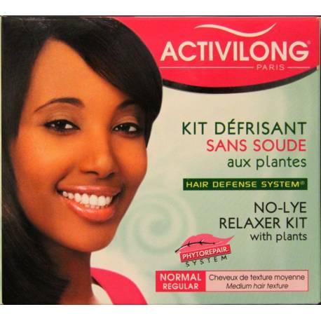 Activilong Kit Défrisant sans soude aux plantes