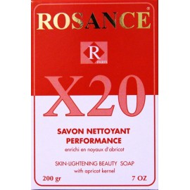 Rosance X20 skin-lightening beauty soap