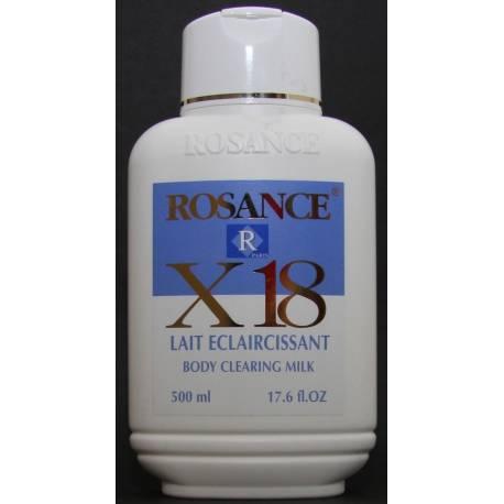 Rosance X18 Body clearing milk