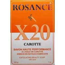 Rosance X20 carotte savon haute performance