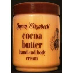 Queen Elisabeth Cocoa butter - crème au beurre de cacao pour les mains et le corps