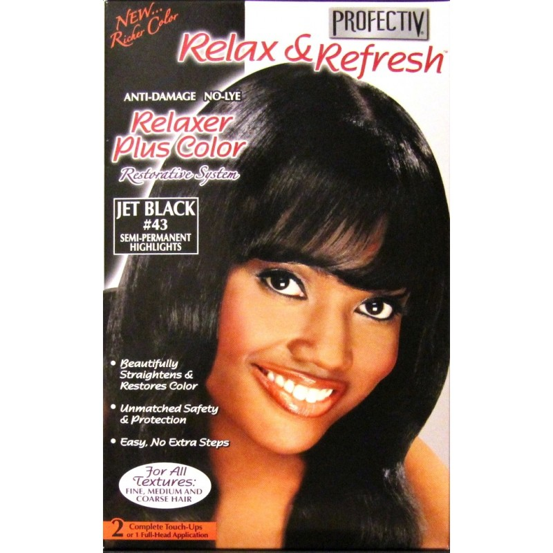 Profectiv Relax Amp Refresh Relaxer Plus Color Jet Black 43