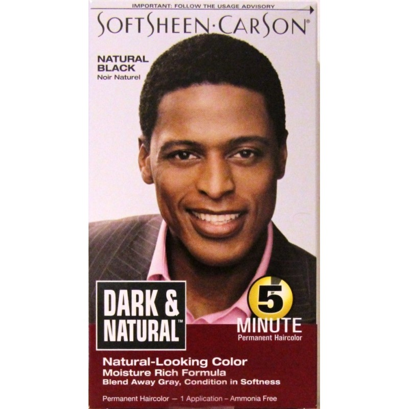 Softsheen Carson Dark And Natural Permanent Hair Color For Men