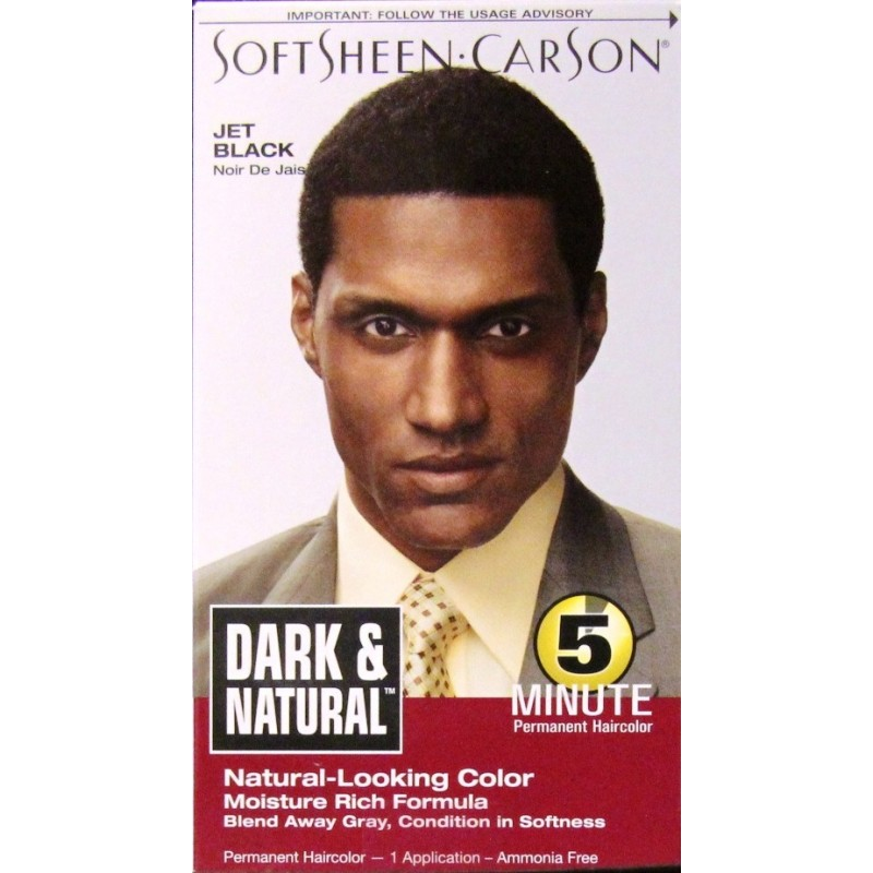 softsheen carson dark and natural coloration permanente - Coloration Permanente Homme
