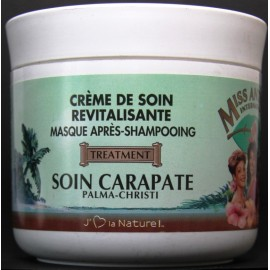 Miss Antilles International revitalizing hair cream Palma Christi - SOIN CARAPATE