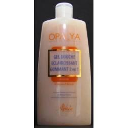 Opalya exfoliating and lightening shower gel 2 in 1 - Almond