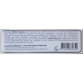 White Express lightening and exfoliating soap