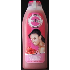New Light gel douche grenadine