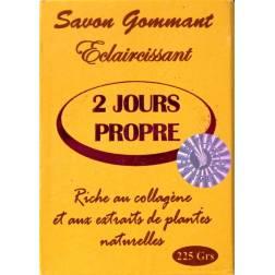 2 jours propre exfoliating and lightening soap