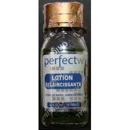 Perfect White lightening beauty lotion -  hands, legs and feet