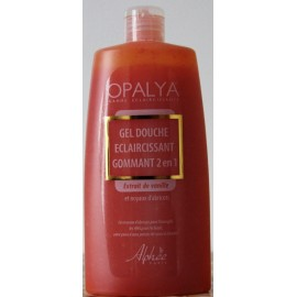 Opalya exfoliating and lightening shower gel 2 in 1 - Almond