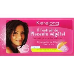 Keralong ampoules au placenta végétal