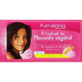 Keralong vials with natural placenta extract