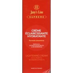 Jany's Line Suprême crème éclaircissante hydratante