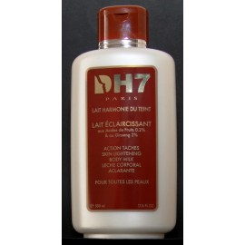 DH7 skin lightening body milk