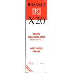 Rosance X20 crème éclaircissante performance
