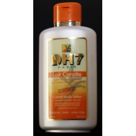 DH7 carrot body lotion