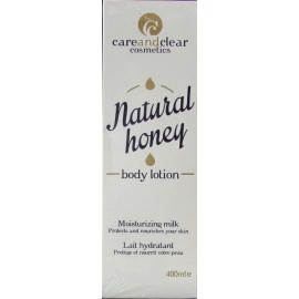 careandclear natural honey body lotion moisturizing milk