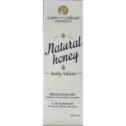 careandclear natural honey body lotion moisturizing milk
