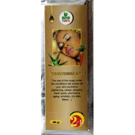 L'Ivoirienne lightening soap with carrot oil and aloe vera